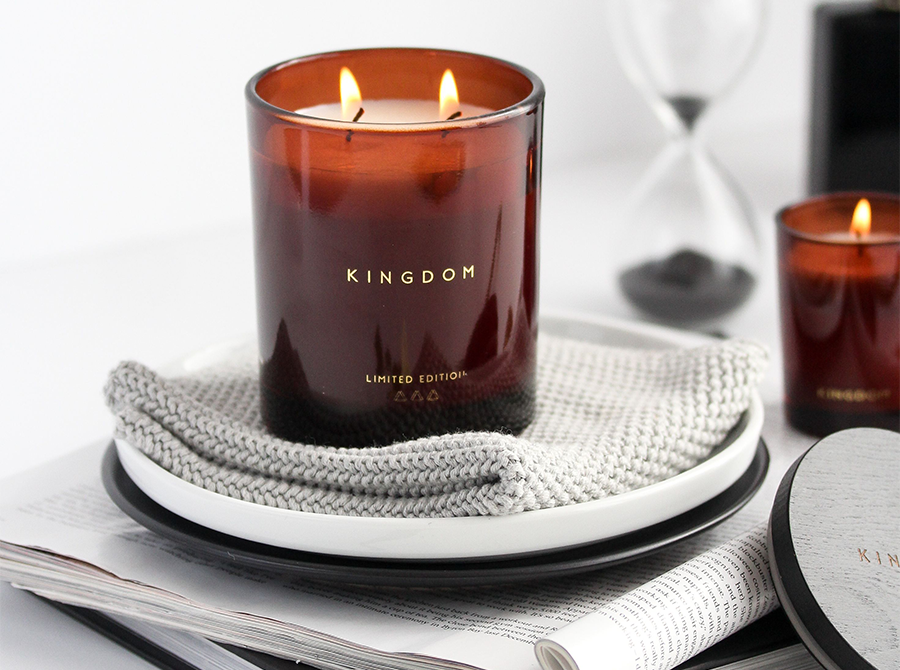 Kingdom Candle – Citron & Basil