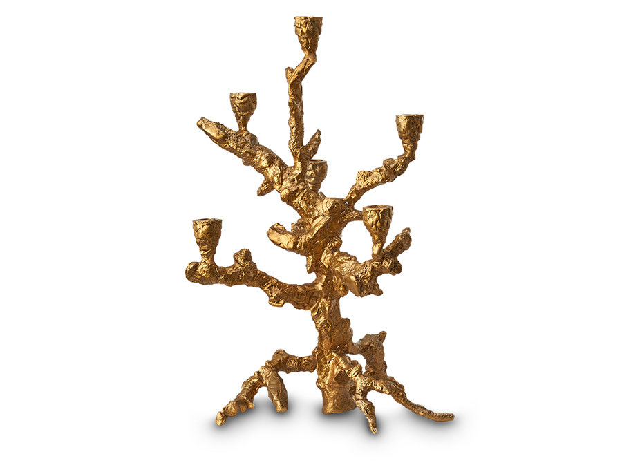 Pols Potten Gold Apple Tree candle holder - SOLD OUT